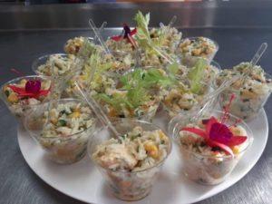 sałatka ryżowa catering